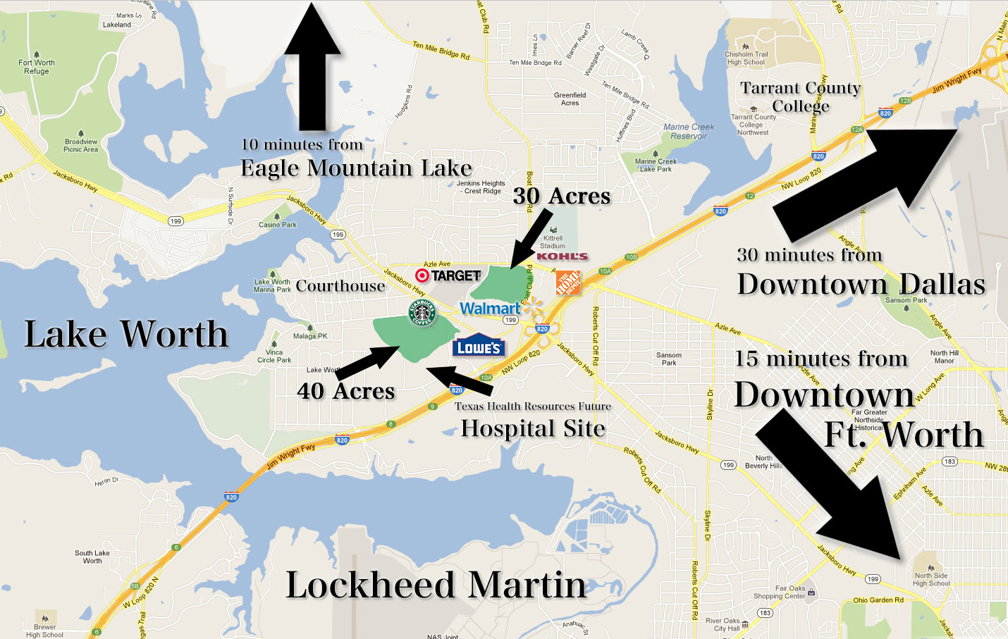 40 Acres in Fort Worth, Texas | Pent Properties | Prime Real Estate ...